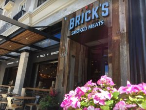 Bricks restaurant exterior