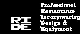 Professional Restaurants Incorporating Design and Equipment