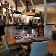 Dining area in the Summer House restaurant